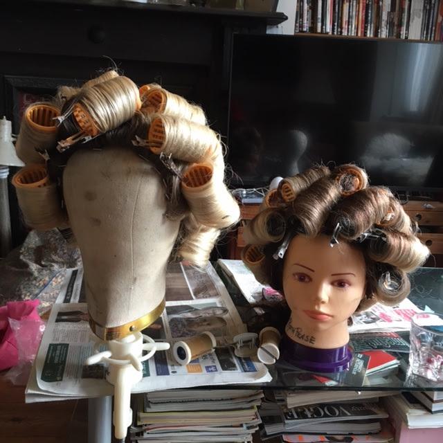 Matching wigs