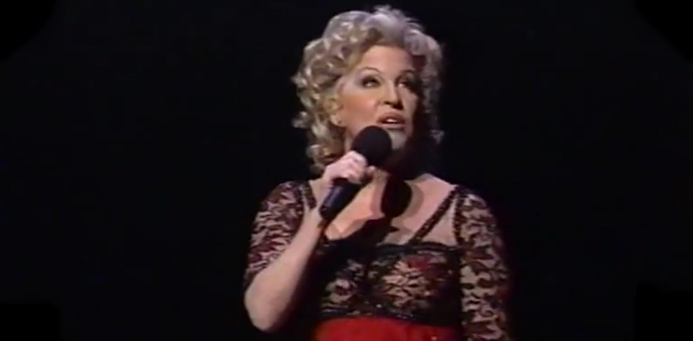 "Bette Midler singing ""I Regret Everything"" (Divine Miss Millennium Tour)"