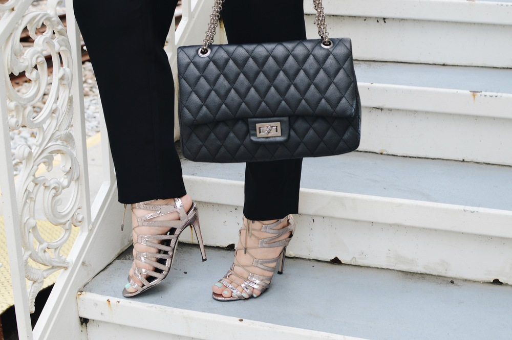 Heels  Top Shop,  Handbag  Forever21