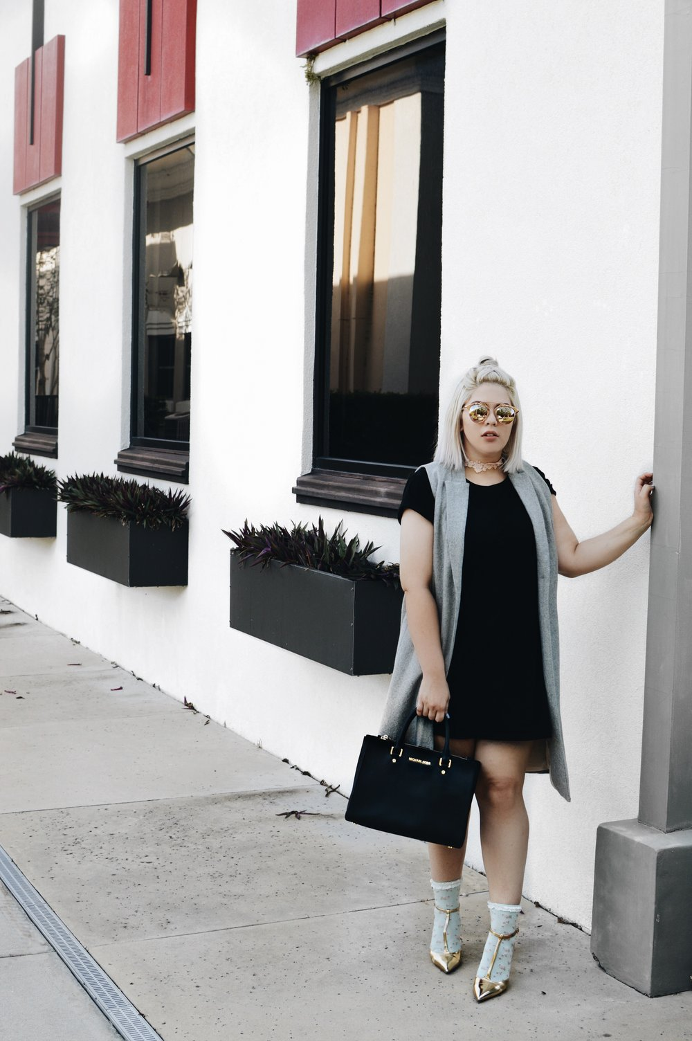 Shirt Dress   H&M  , Duster   NeverNakedBoutique  , Sunnies   Aldos
