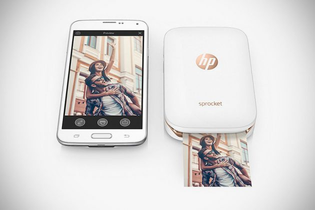 HP ROSE GOLD SPROCKET PRINTER