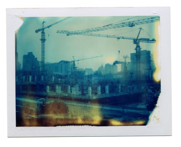 "From Lukas Birk's Polaroids from the Middle Kingdom showing the ""instant nostalgia"" of contemporary China on expired Polaroid film, 2008–2010"