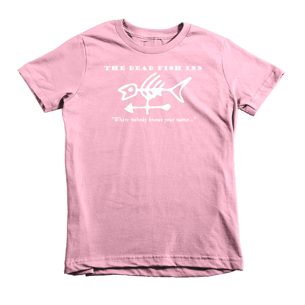 Dead Fish Inn T-shirt Pink