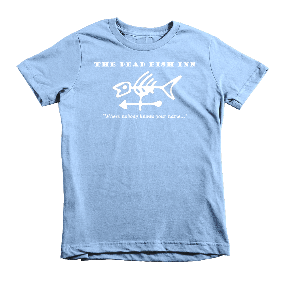 Dead Fish Inn T-shirt Light Blue