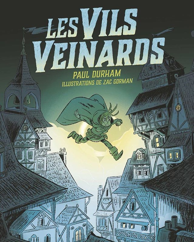 The Luck Uglies (a/k/a Les Vils Veinards) made their debut in France last week. Hope French readers enjoy meeting Rye and Harmless.