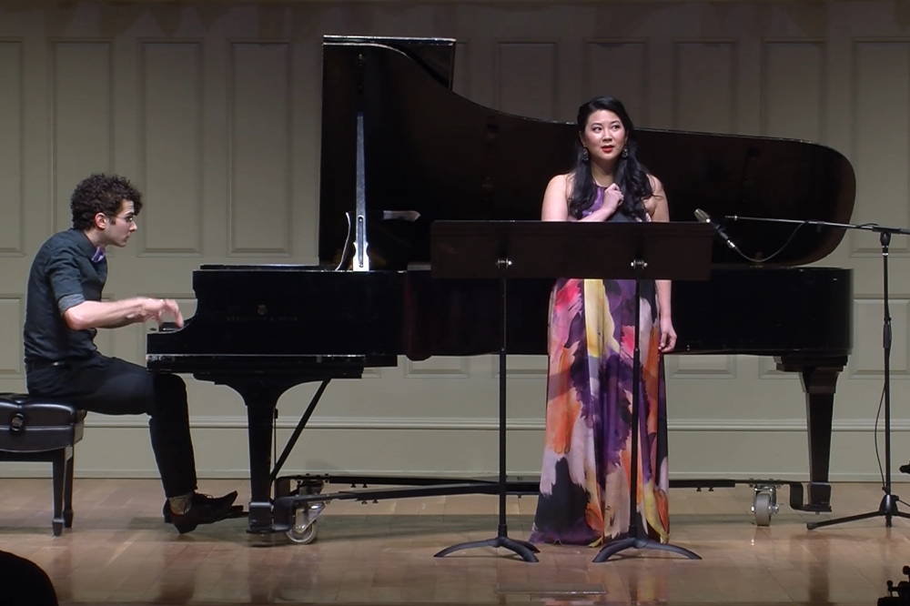Apparition  by George Crumb. MM Recital at Boston Conservatory; Robert Fleitz, piano.
