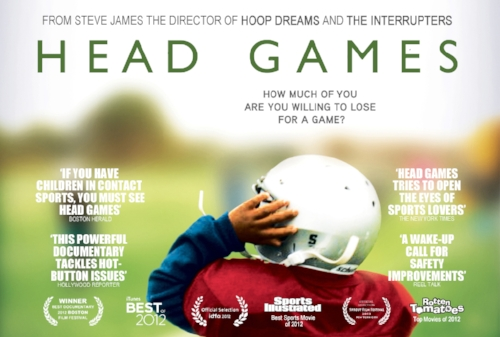 Head Games (2012): Producer. Director: Steve James