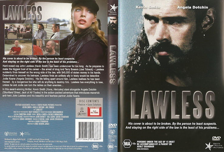 Lawless (1999): Producer - Winner, New Zealand Best Drama Award