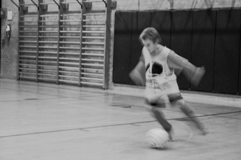 arlo blur soccer ball