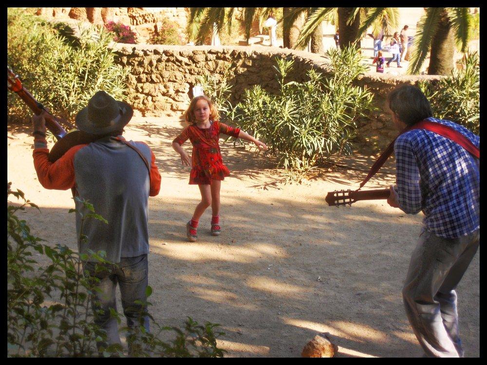 Girl dancing 1, Barcelona