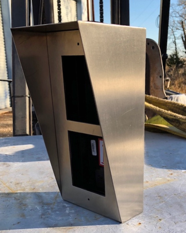 Stainless access control box