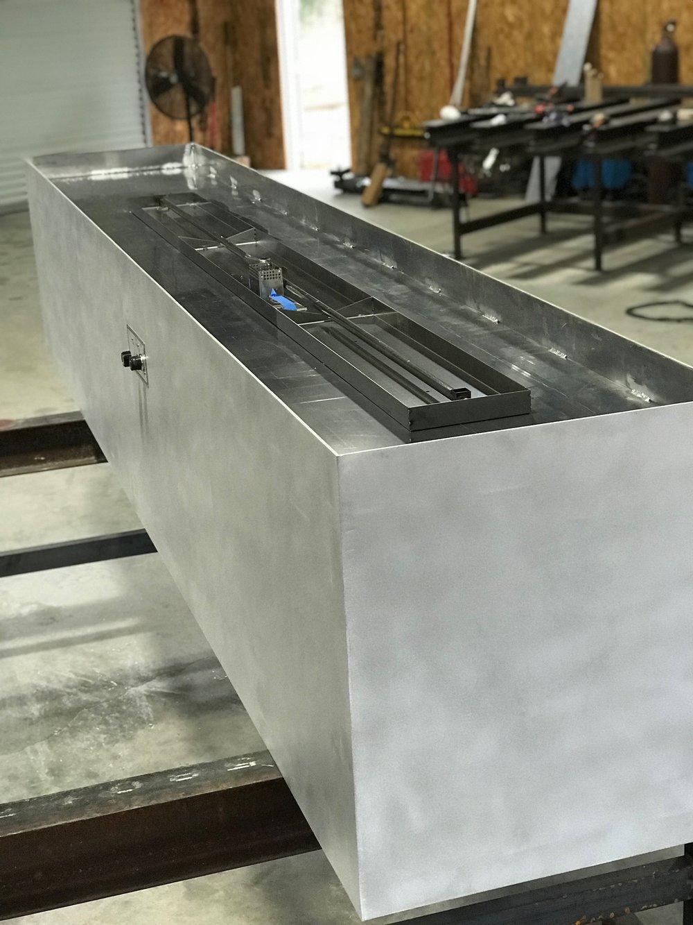 Aluminum Fire Pit