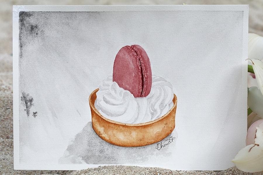 Macaron Tart