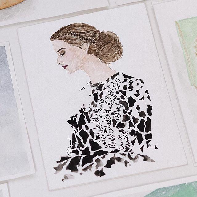 Lady in Black 🖊