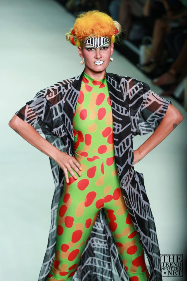 Desert Designs on the catwalk at Sydney Fashion Week