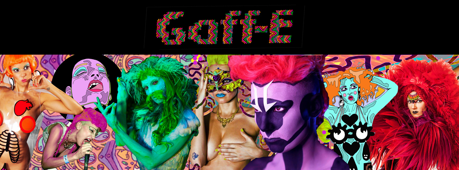 Gaff E - Colourful Unique Performance Artist - Freedom - DIY - Berlin - Disco - Art - Inspiration - Live - Rainbow - Music -Colorful - Avant Garde - Psychedelic - Individual - Queer - Fashion