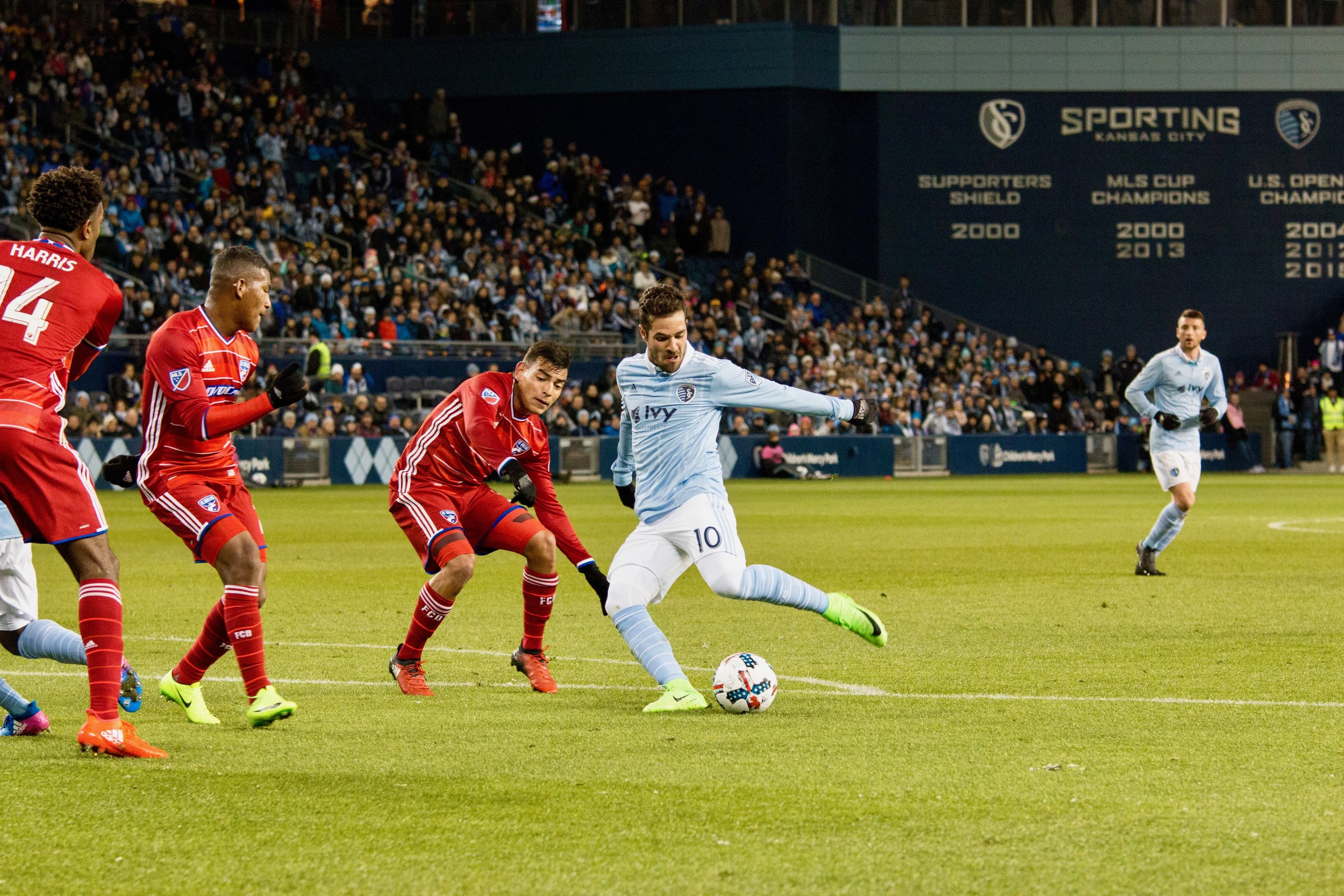 a958dcfd366b Sporting KC vs FC Dallas — Work in the Morning