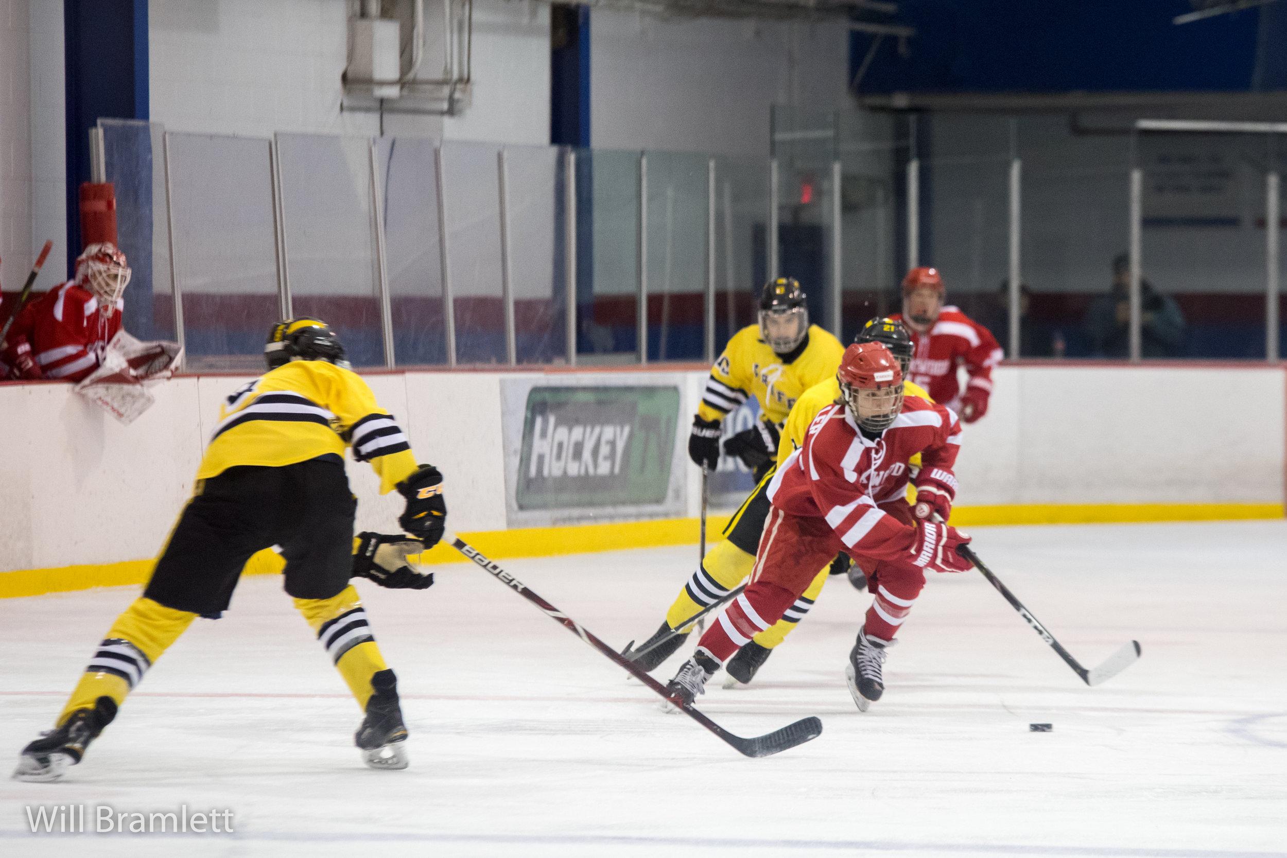 Ice Hockey Kirkwood Vs Vianney Work In The Morning