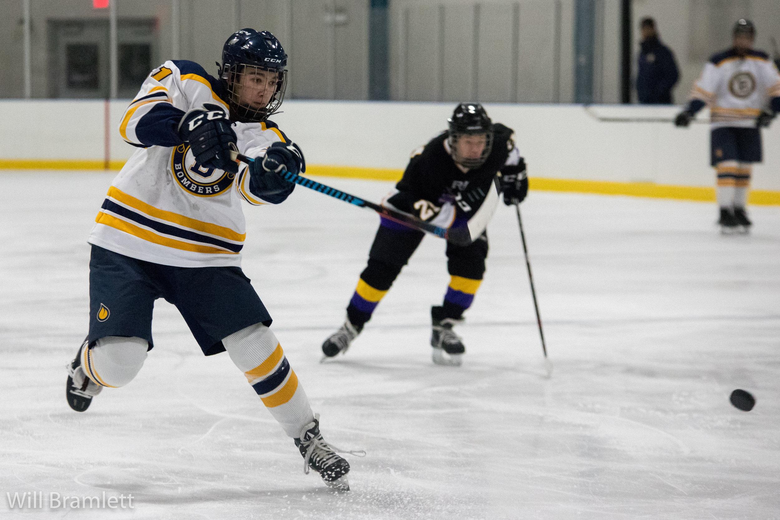 Ice Hockey Jbs Vs Eureka Work In The Morning