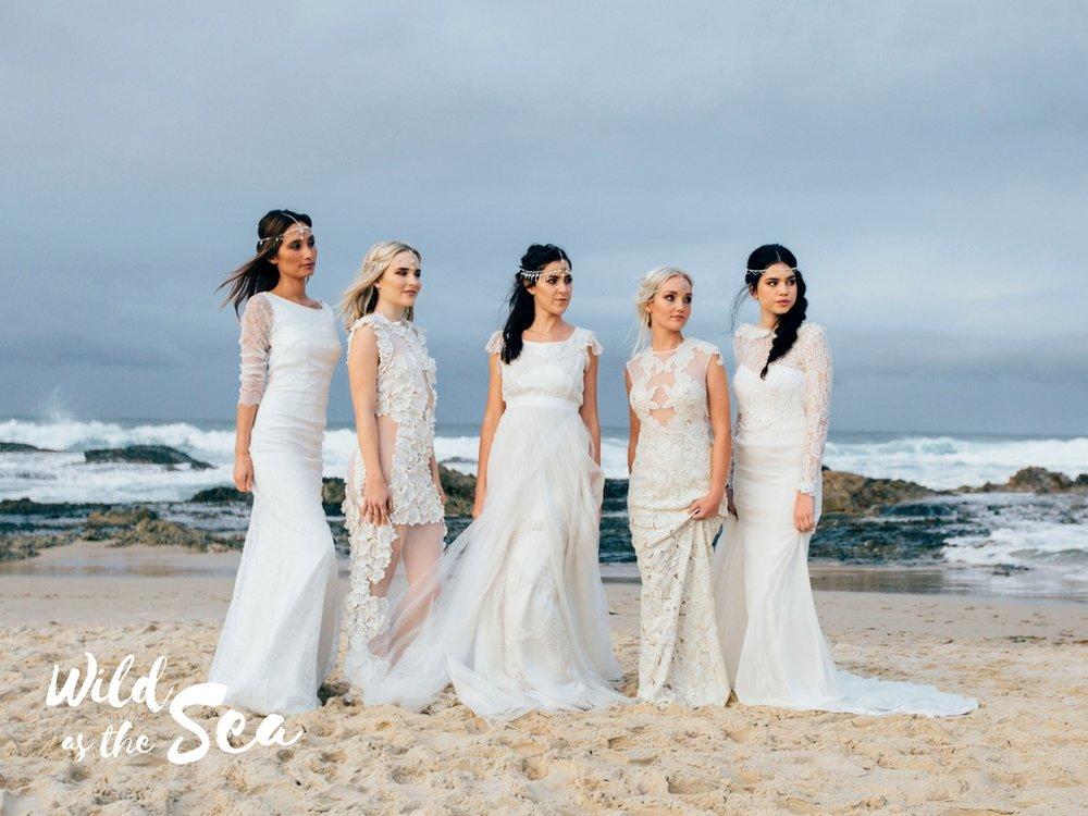 Komorebi Bride headpieces Wild as the Sea beach