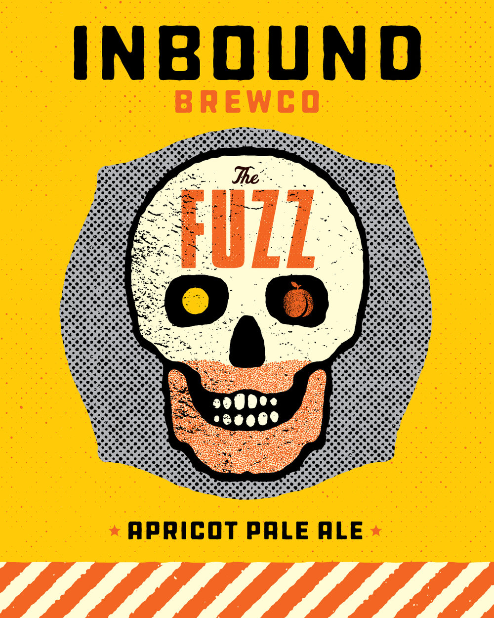 Inbound BrewCo The Fuzz Apricot Pale Ale