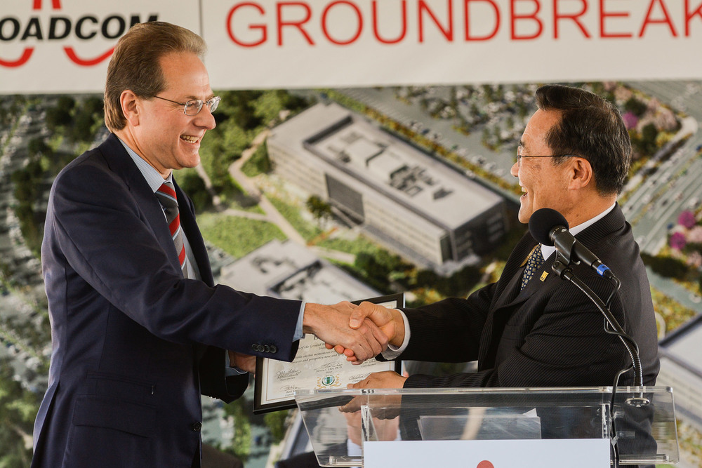 BROADCOM GROUNDBREAKING