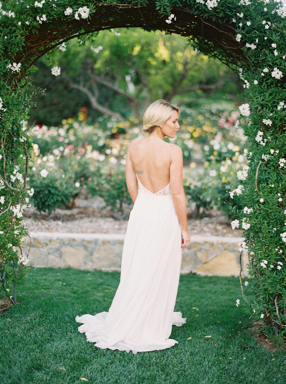 Organic Bridal Portrait