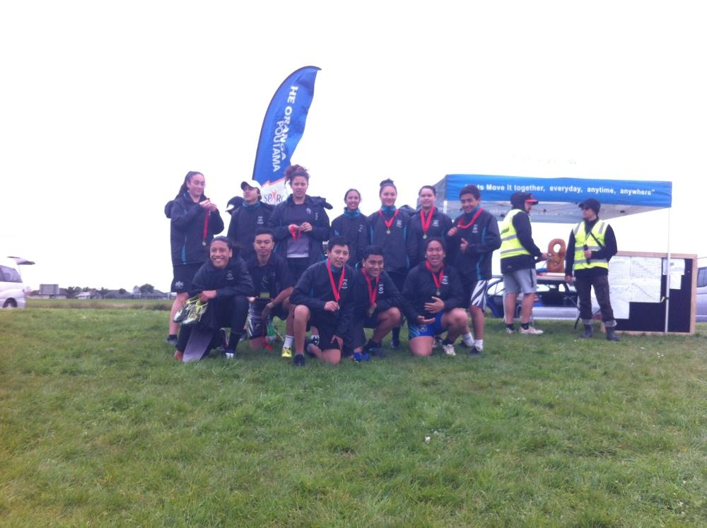 Year 9 & 10 Champions 2015 - Te Kura Maori o Nga Tapuwae