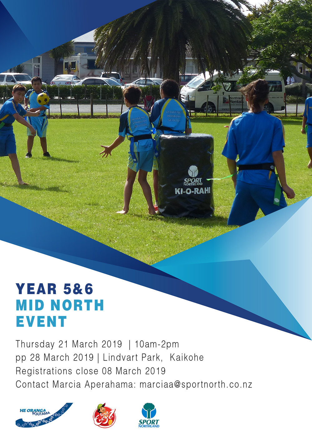 Year 5 & 6 Mid Northland Ki o Rahi Tournament 2019
