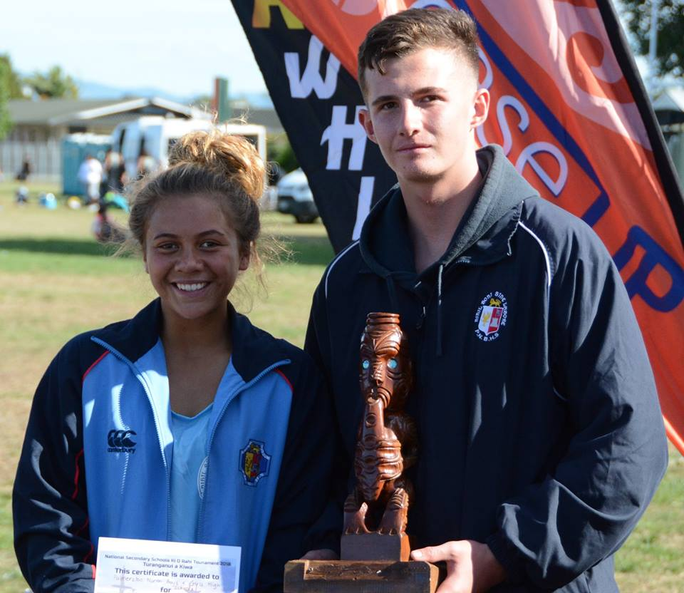 Palmerston North Boys and Girls - 2018 Secondary School Ki o Rahi Nationals