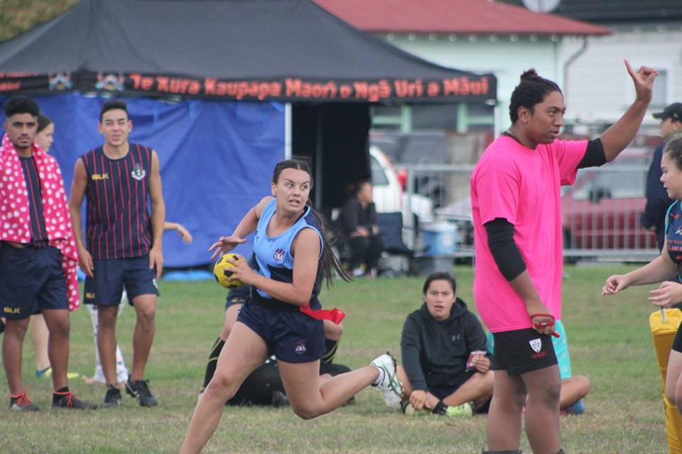 whanganui - 2018 Secondary School Ki o Rahi Nationals