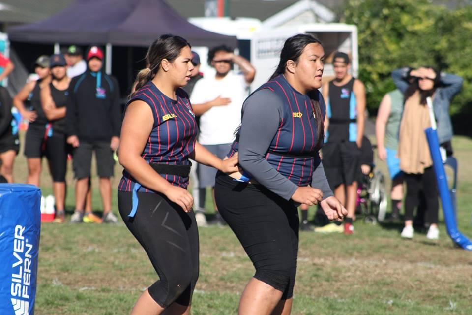 2018 NZ Secondary School Ki o Rahi Nationals - Rotorua Girls High students