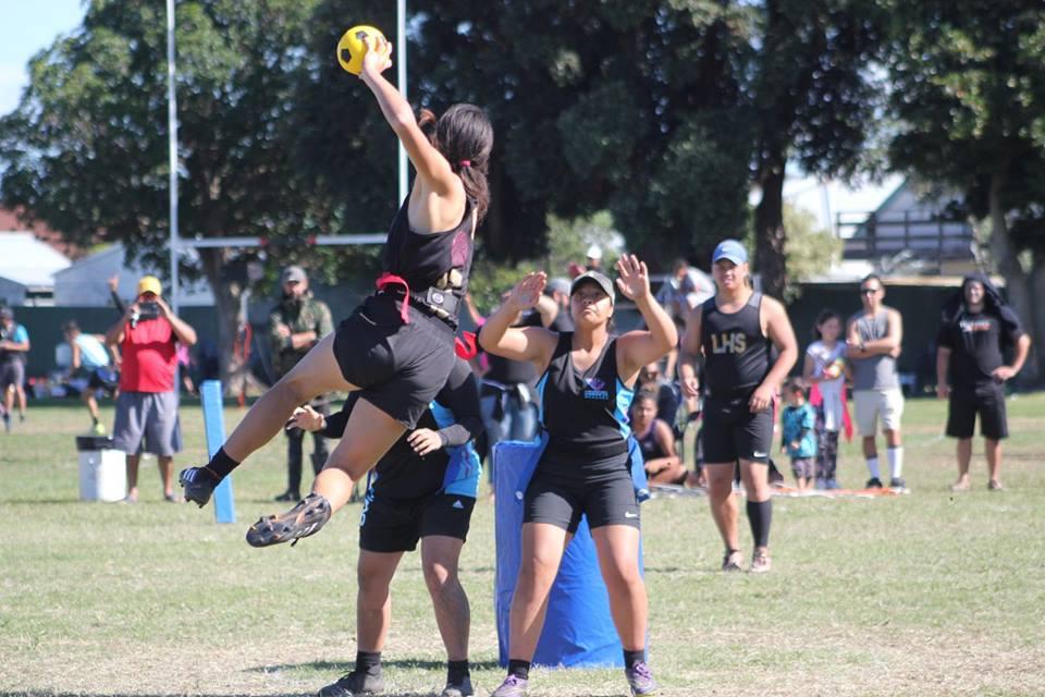 2018 NZ Secondary School Kī o Rahi Nationals - Jump Shot Lytton High School