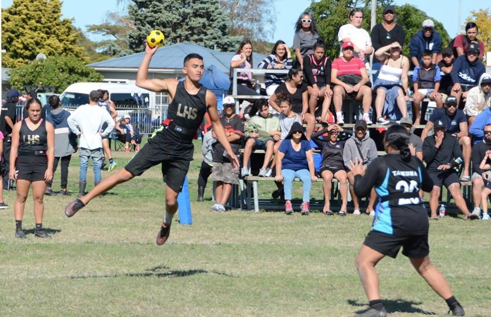 2018 NZ Secondary School Kī o Rahi Nationals - Lytton High School Jump Shot