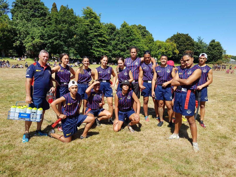 Rotorua Boys and Girls High School - BOP Secondary School Ki o Rahi Regionals 2019