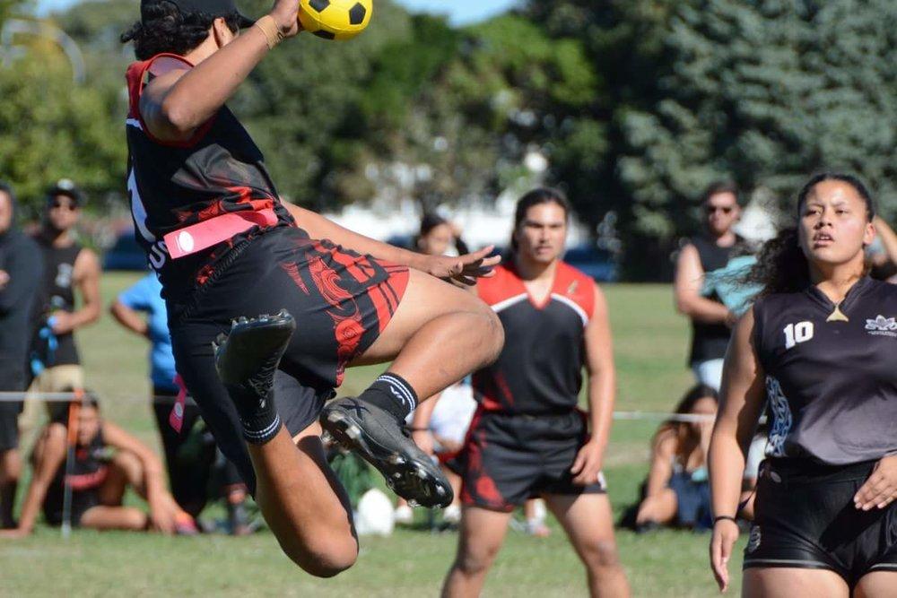 2018 NZ Secondary School Ki o Rahi Nationals - Te Wharekura o Rākaumangamanga Jump Shot