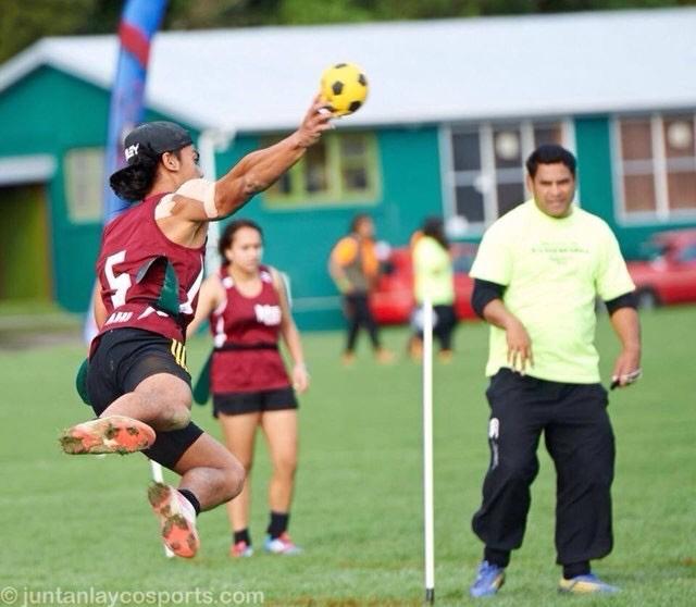 2014 NZ Secondary School Ki o Rahi Nationals - Tamati Jump Shot 2