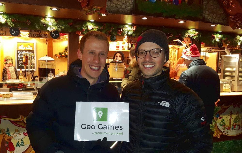 Geo Games auf dem Weihnachtsmarkt in Stuttgart