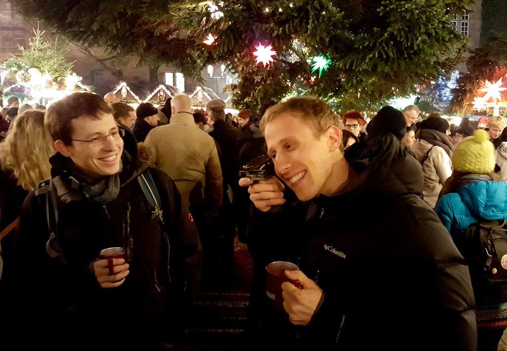 Geocaching Schatzsuche über den Weihnachtsmarkt