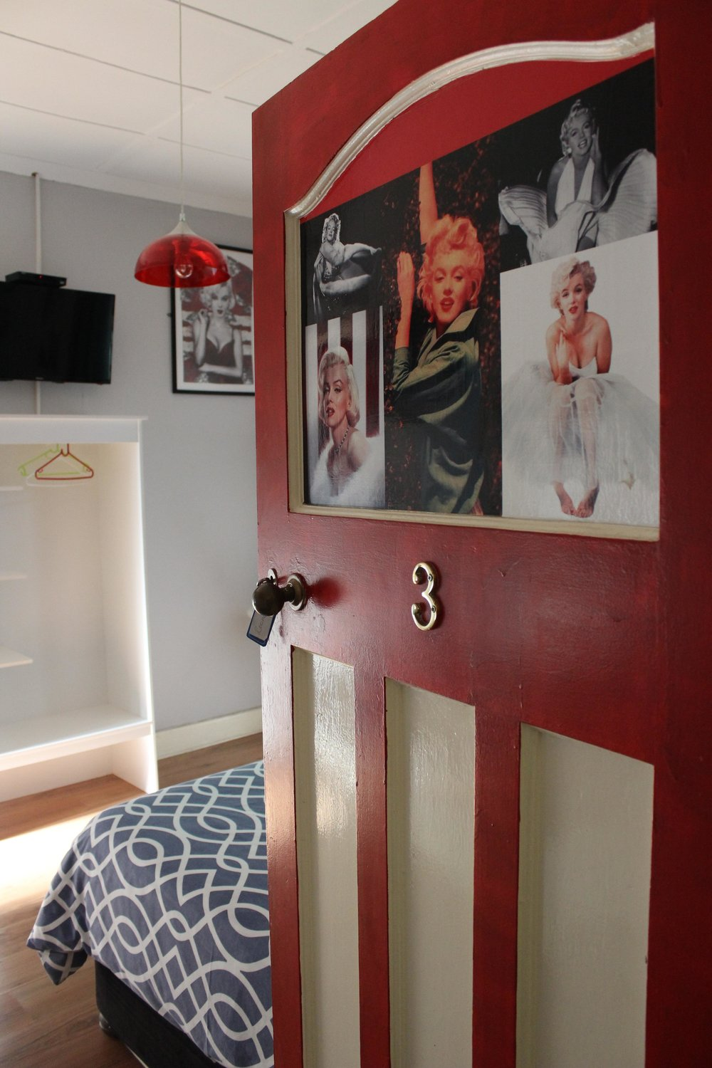 The Marilyn Monroe hotel room.JPG