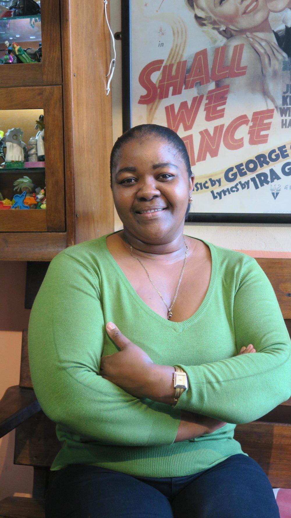 Assistant hotel manager Antonella Gatya.JPG