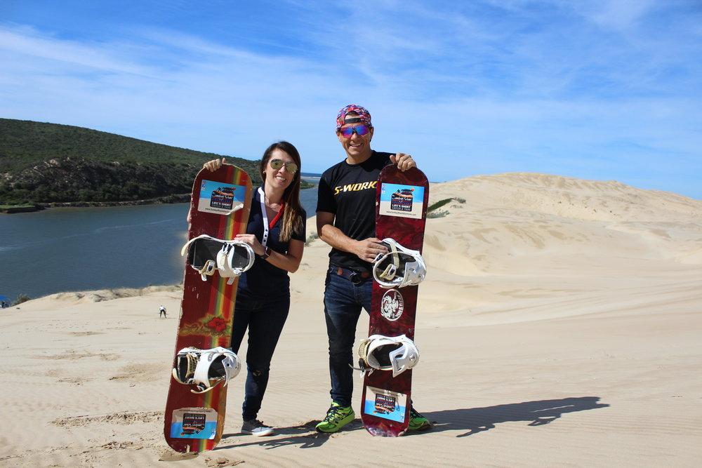 Sandboarding Sundays River