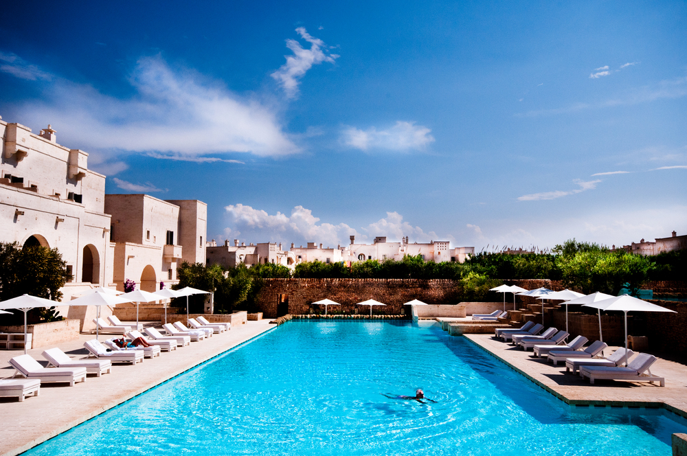 Pool at Borgo Egnazia