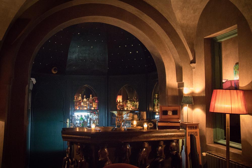 The Bar at Hotel Les Deux Tours