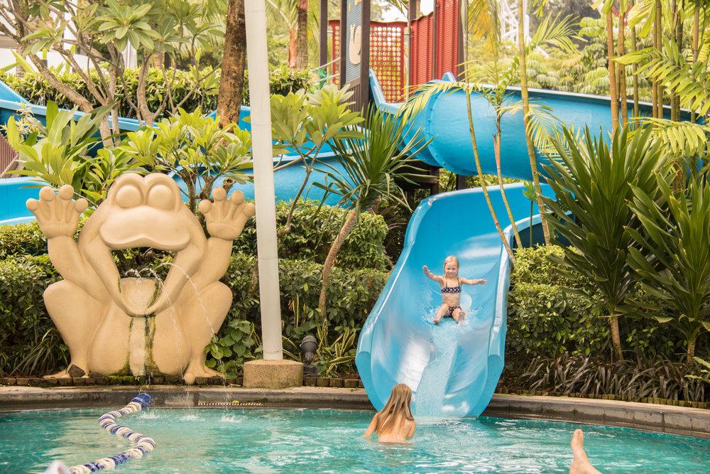 Water fun at Shangri-La's Rasa Sentosa