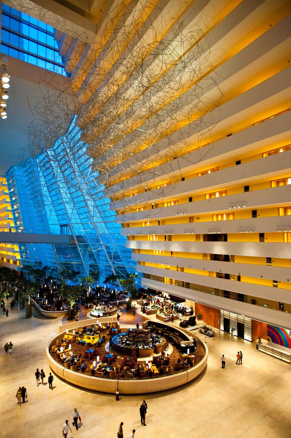 hotel lobby and drift marina.JPG