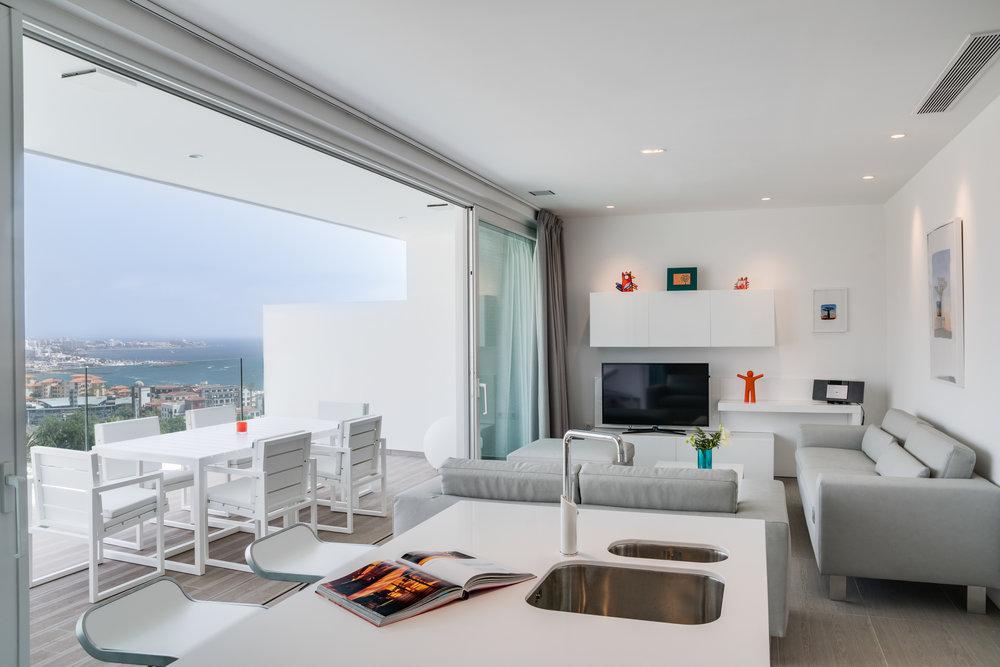 Modern rooms at Baobab Suites