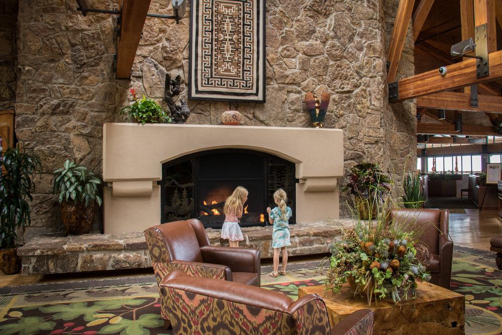 Lobby of the Cheyenne Mountain Resort