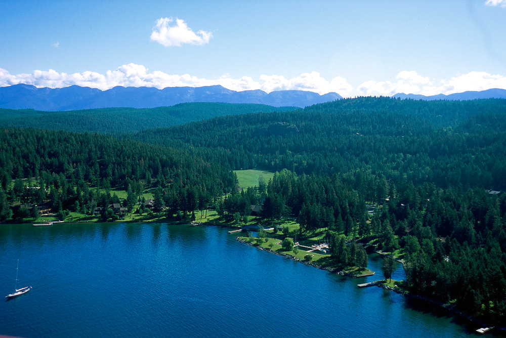 AVERILL'S FLATHEAD LAKE LODGE, MONTANA USA