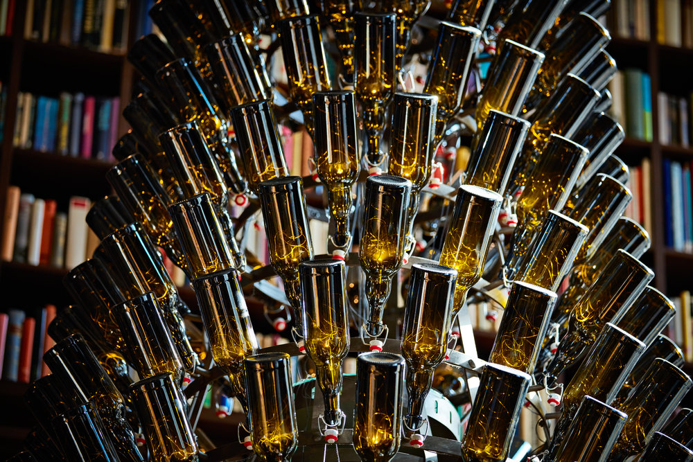 B2 Boutique Hotels + Spa_chandelier from original Huerlimann bottles.JPG